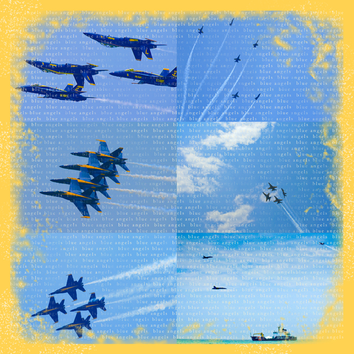 Blue angels RIGHT - show