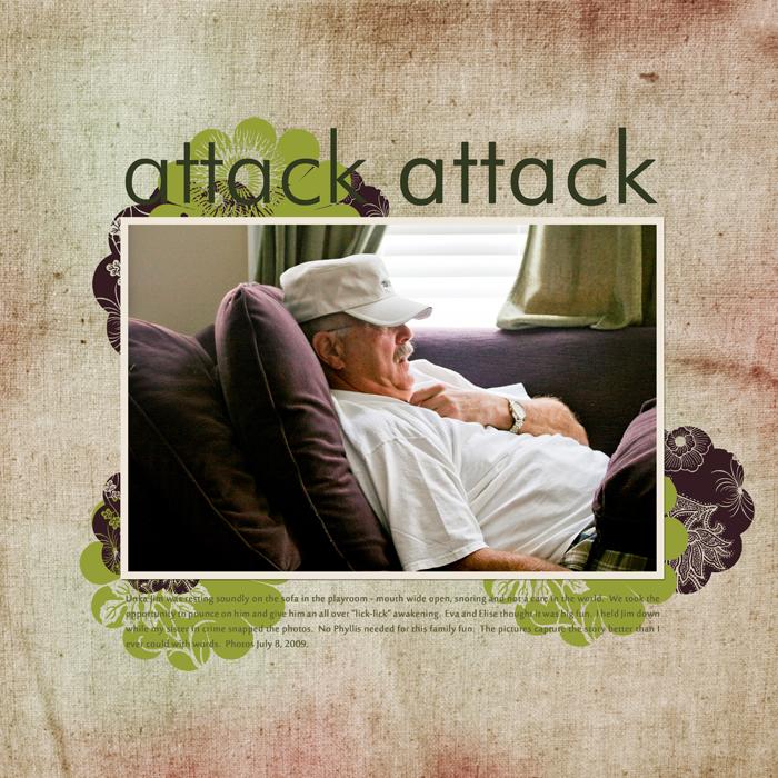 Attack attack LEFT