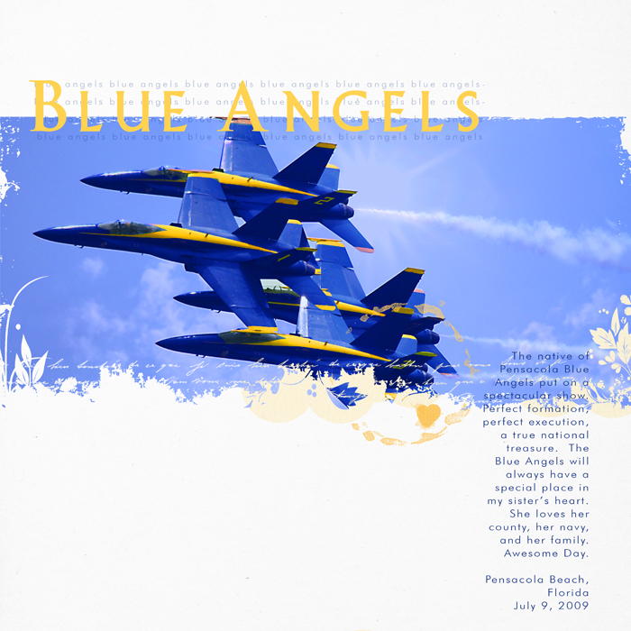 Blue angels - show RIGHT
